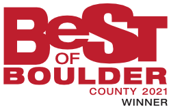 Voted Best of Boulder 2021
