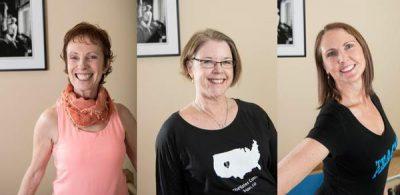 Debora Robinson Kolwey, Rachel Taylor Segel, Amy Taylor Alpers